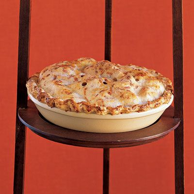 apple pie with cheddar pastry