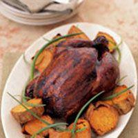 Molasses Five-Spice Roast Chicken