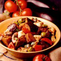Skillet Eggplant Stew