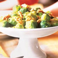 Brussel Sprouts with Walnuts