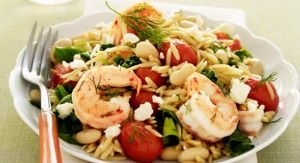 roasted shrimp orzo