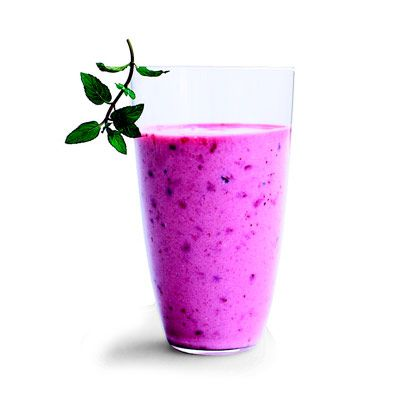 pomegranate-berry smoothie