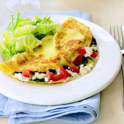 recipe: spinach feta omelette neopets [3]