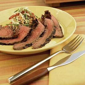 Flank-Steak-with-Asian-Slaw