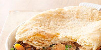 Family Style Recipes Creamy Chicken and Mushroom Pie