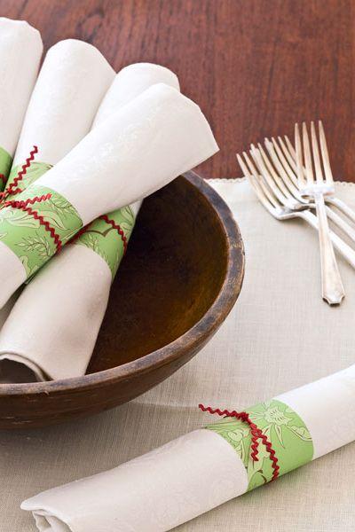 40 DIY Christmas Table Settings and Decorations ... - photo#39