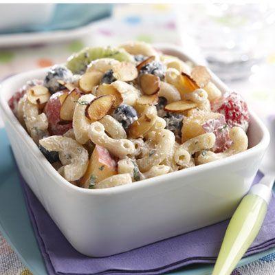 Fruit And Yogurt Elbow Salad Recipe
