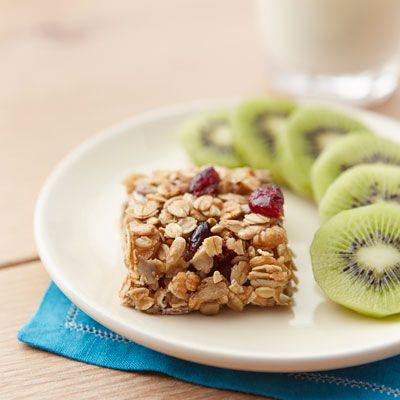 cherry nut granola squares