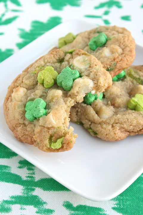 Lucky Charm Cookies - St Patrick's Day Food