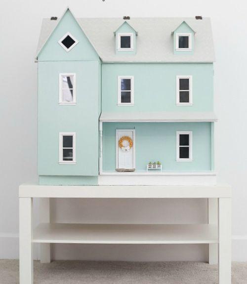 dollhouse tour - dollhouse decorating ideas