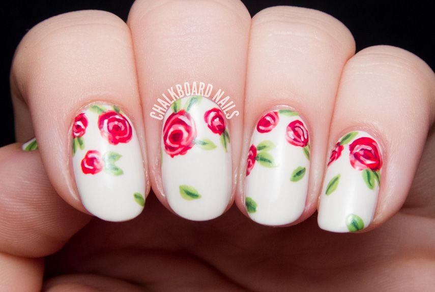 25 Best Valentine's Day Nails - Hot Nail Art Design Ideas for Valentines Day - 25 Best Valentine's Day Nails - Hot Nail Art Design Ideas For