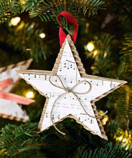 - Homemade Christmas Star Ornament - DIY Christmas Ornaments