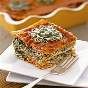 Vegan Lasagna Recipe Tofu Spinach Lasagna