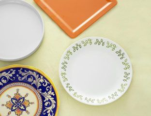 dinner plates  sc 1 st  Good Housekeeping & Break Resistant Dinnerware - Durable Dinnerware