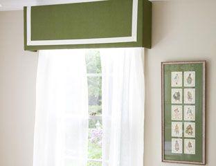 Diy Window Treatment Diy Pelmet