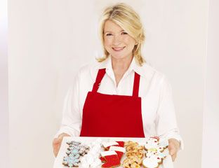 celebrity christmas cookie recipes martha stewart interview - Martha Stewart Christmas