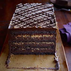 chocolate peanut pave