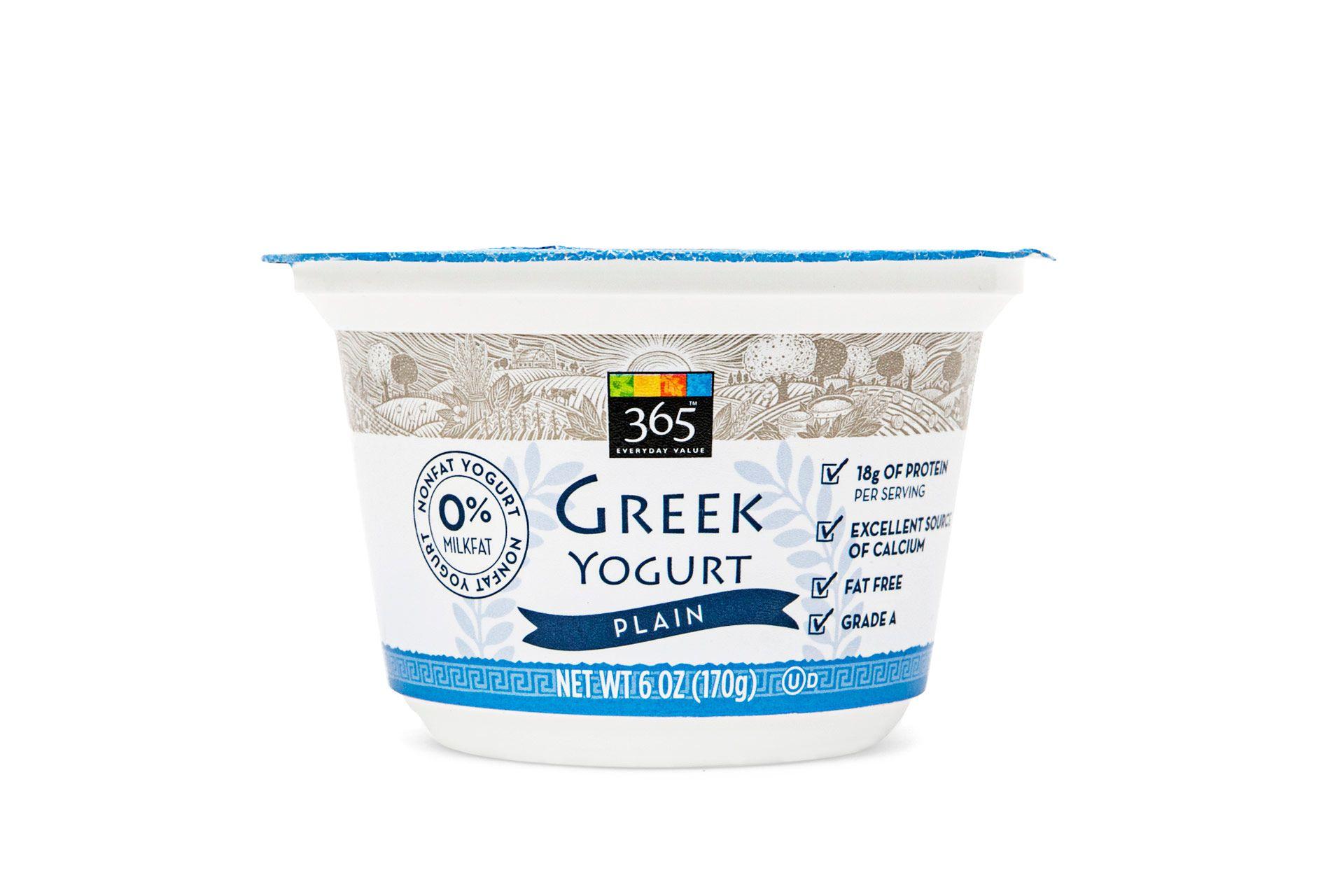 Whole Foods 365 Greek Yogurt - How Much Calcium Is in 365 Greek Yogurt