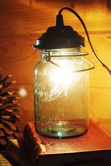 Mason Jar Craft - Lantern