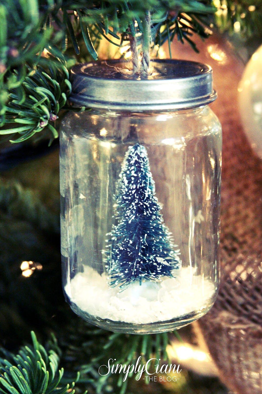 55 Homemade Christmas Ornaments Diy Handmade Holiday Tree Ornament