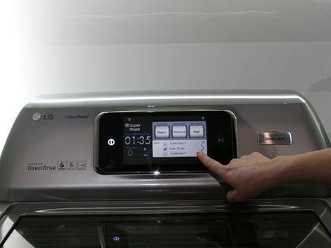 lg smart washer