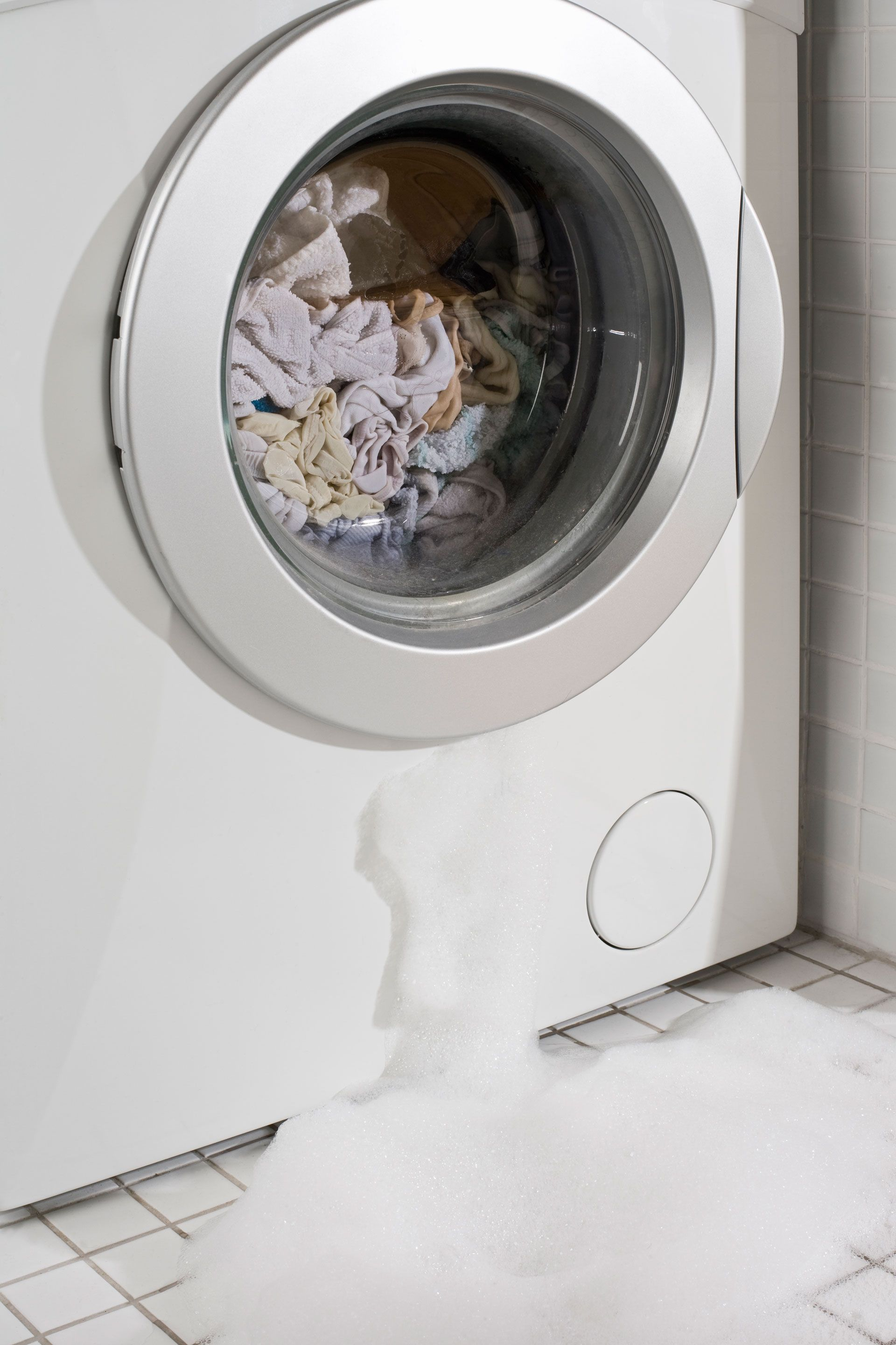 a leaky washing machine