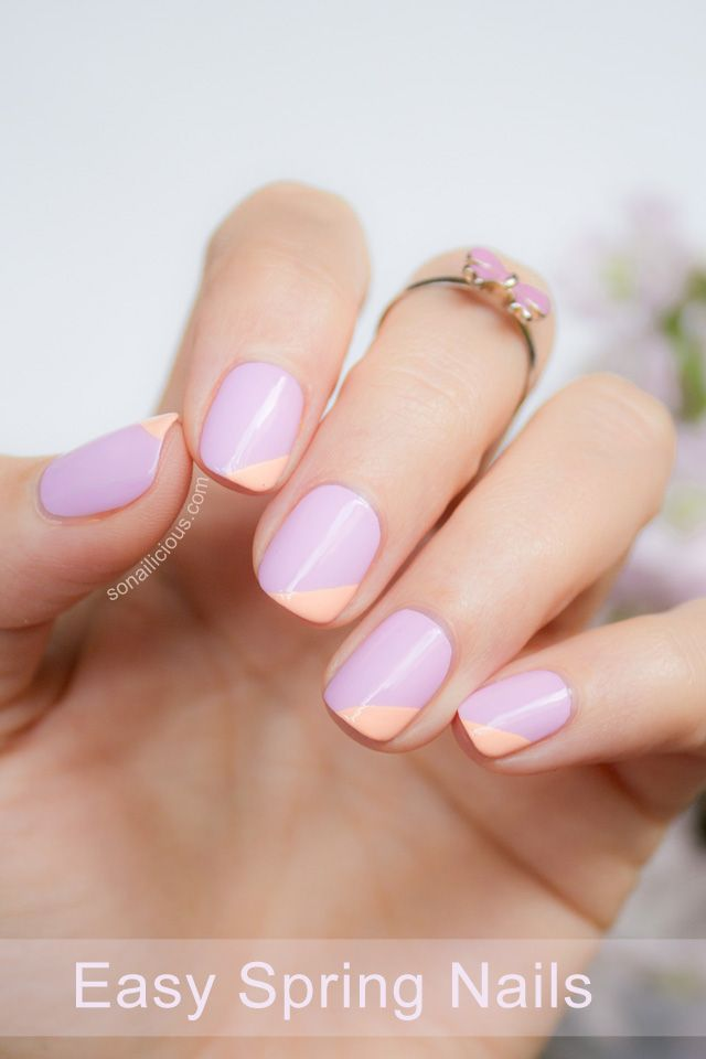 25 Easter Nail Art Ideas You Have to Try This Spring - Easy Easter Nail Art  Ideas - 25 Easter Nail Art Ideas You Have To Try This Spring - Easy Easter