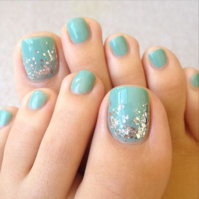 Pedicure Nail Art Ideas - Nail Art Inspiration for Toes
