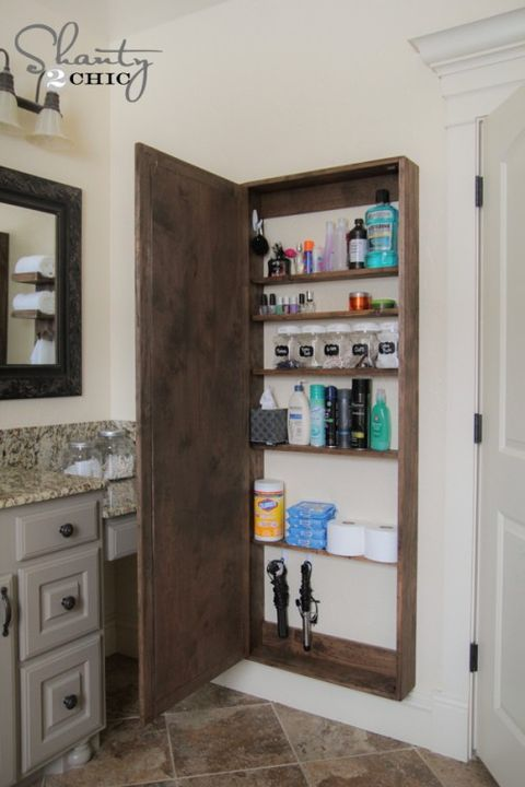 24 Small Bathroom Storage Ideas Wall