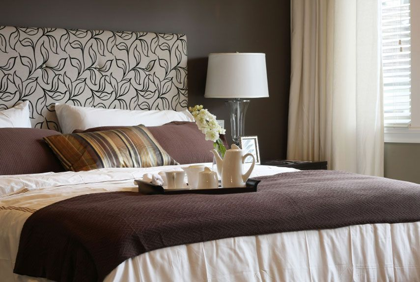 superior Ideas For Decorating Bedrooms Part - 1: Good Housekeeping