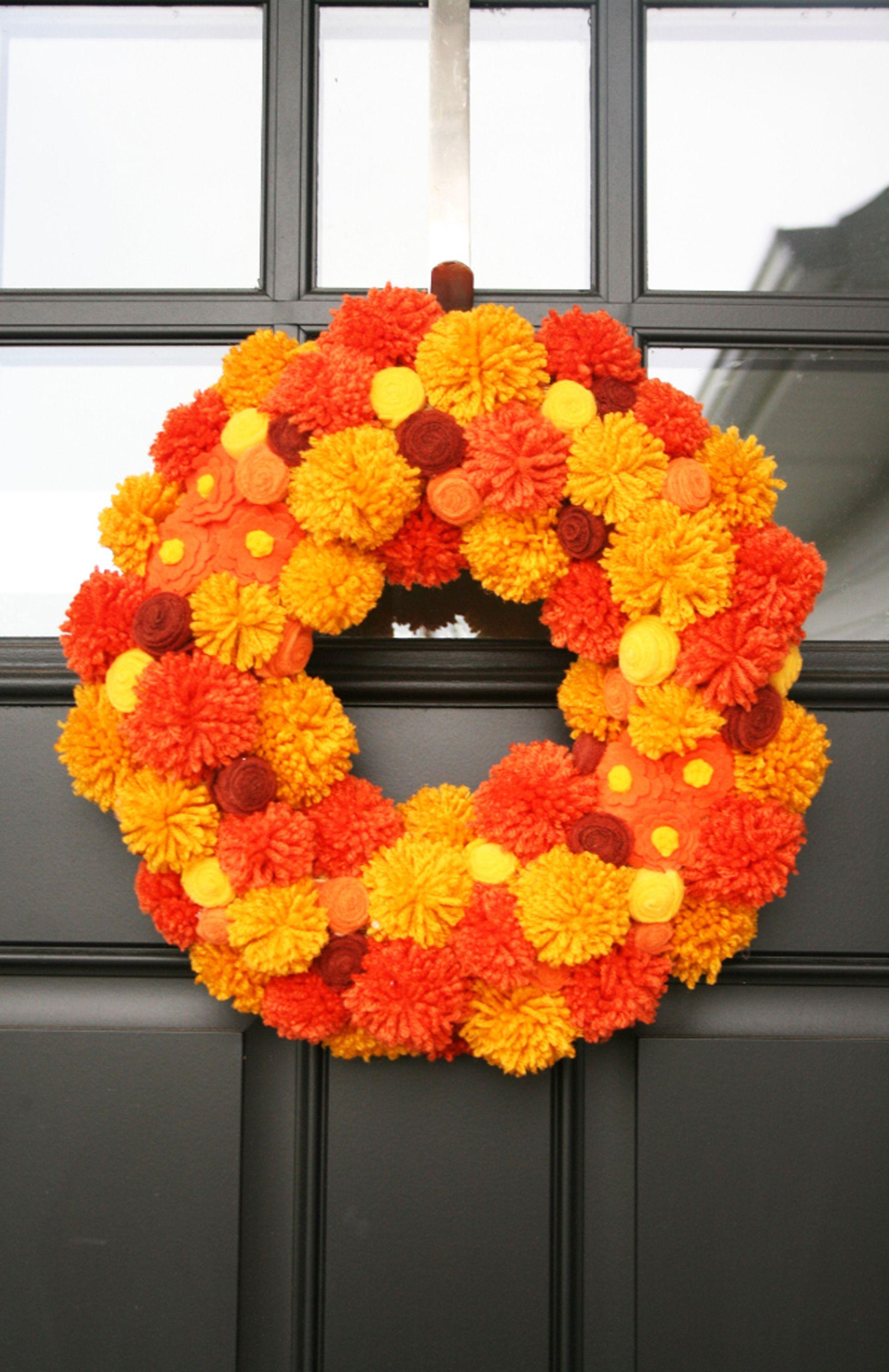 32 Easy Diy Fall Wreaths Best Wreaths For Fall