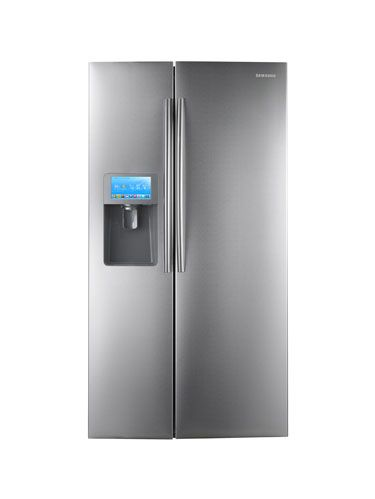 samsung side by side lcd refrigerator rsg309aarsxaa