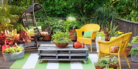 28 Cute Backyard DIYs