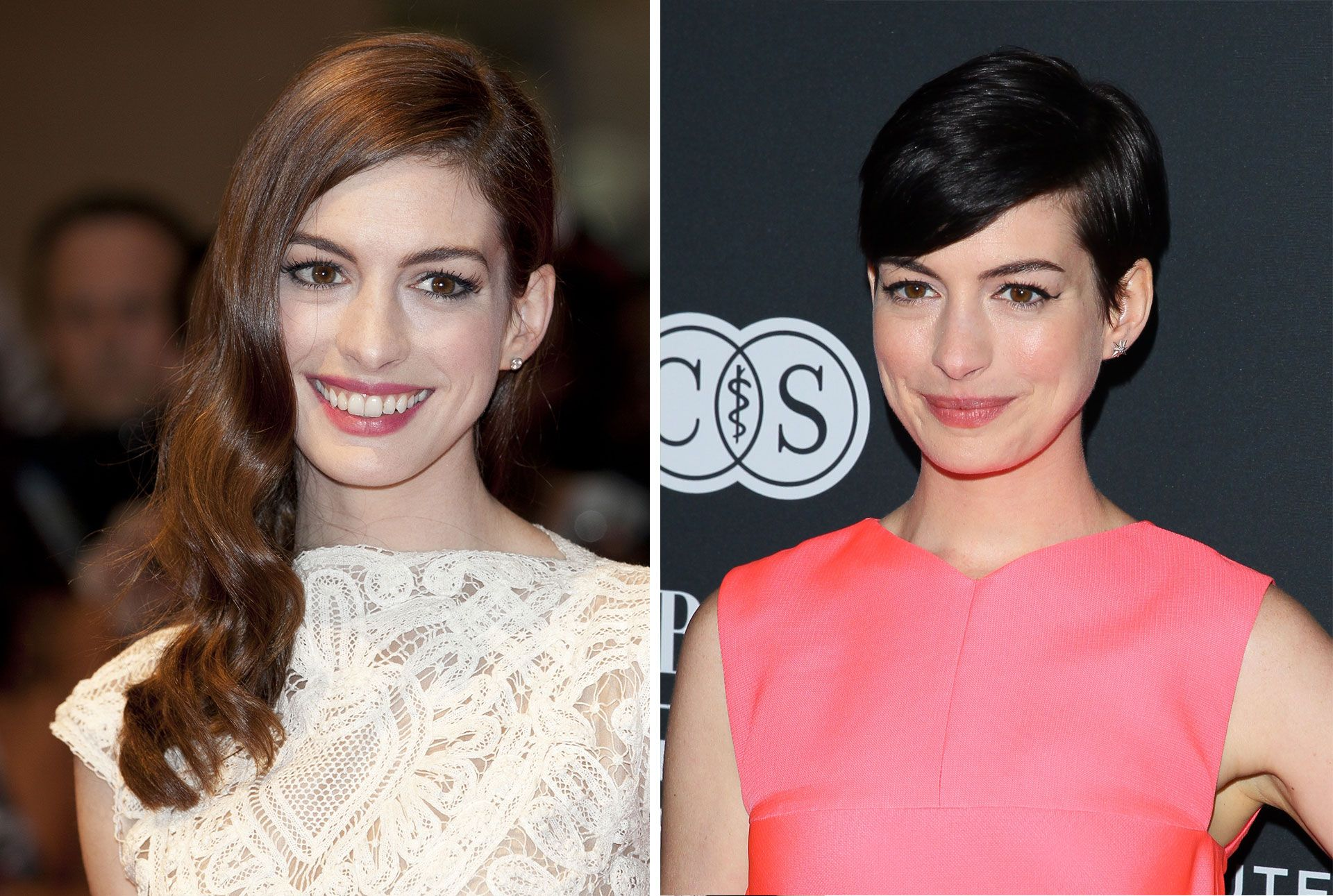 Celebrities With Long And Short Hair Long And Short Celebrity Hair Inspiration