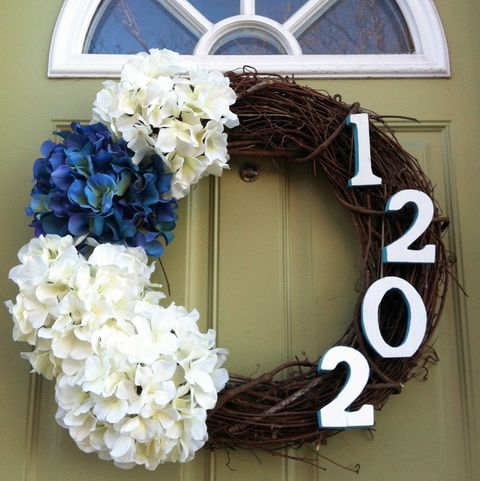 Spring Wreaths - Number Wreath