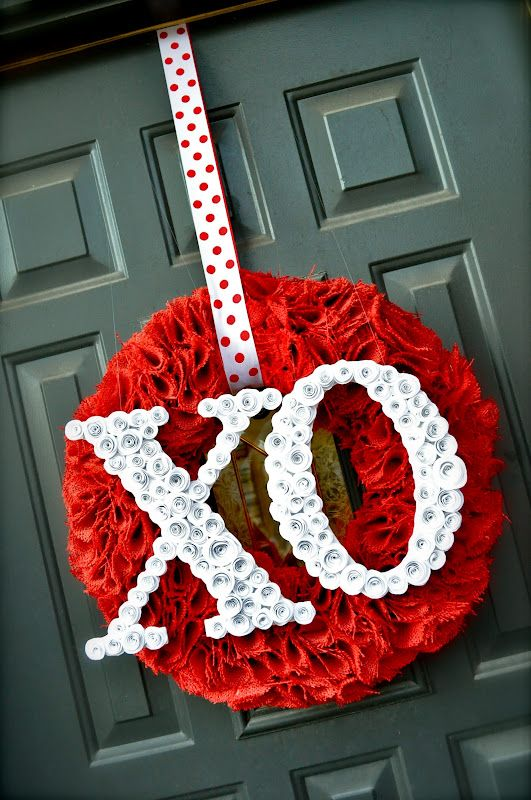 30 Diy Valentines Day Wreaths Homemade Door Decorations For