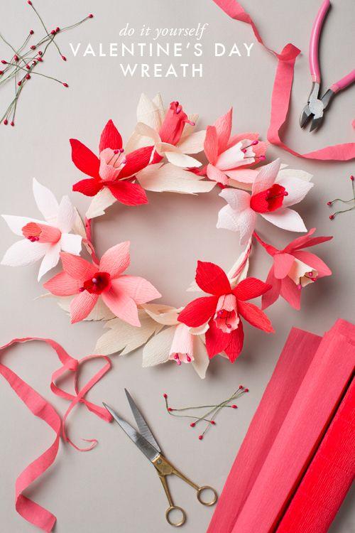30 diy valentines day wreaths homemade door decorations for 30 diy valentines day wreaths homemade door decorations for valentines day solutioingenieria Images