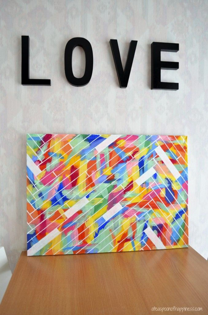 12 easy diy canvas art crafts how to decorate your own blank 12 easy diy canvas art crafts how to decorate your own blank canvas projects solutioingenieria Image collections