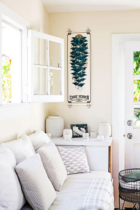 Room, Green, Interior design, Wall, Furniture, Home, Floor, Teal, Turquoise, Interior design,