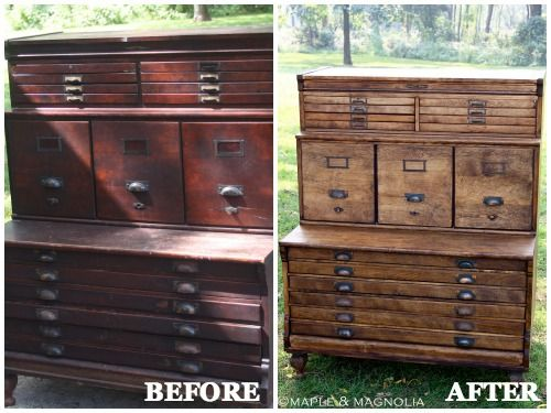 Furniture Makeovers With Stain