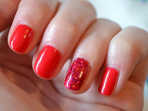 Red Manicure Ideas - Nail Art Inspiration with Red