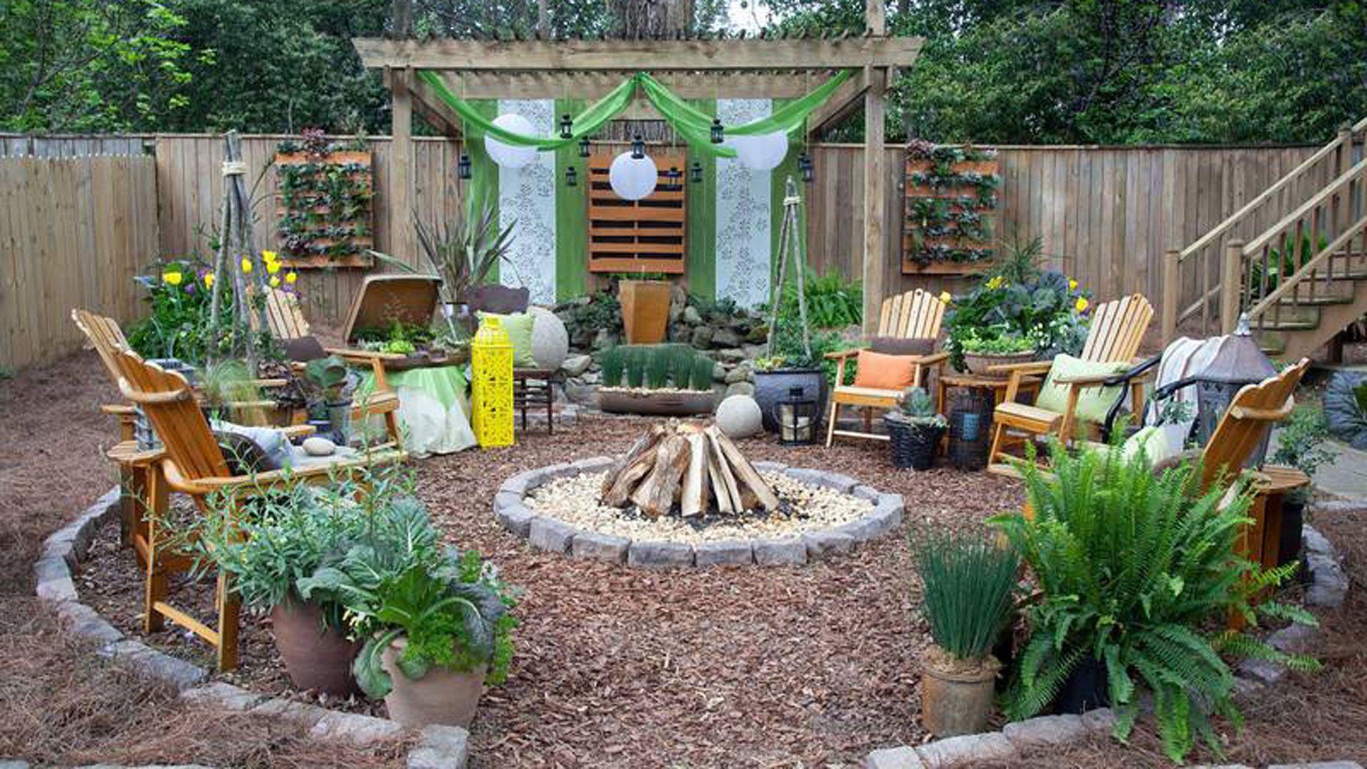 Wonderful Backyard Oasis - Beautiful Backyard Ideas KJ26