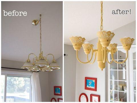 Diy Light Fixture Upgrades Inexpensive Ways To Change