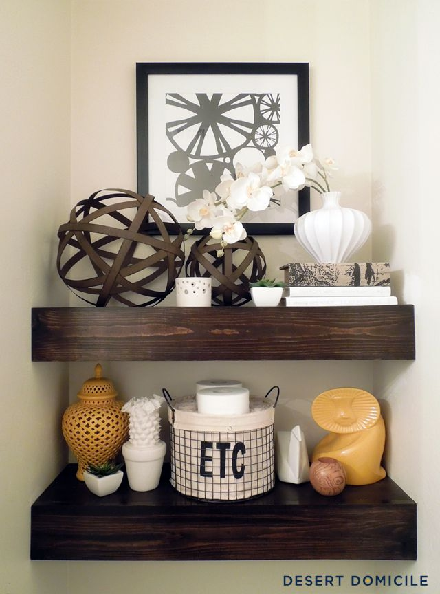 newest 06d32 569e3 Ideas for Floating Shelves - Floating Shelf Styles
