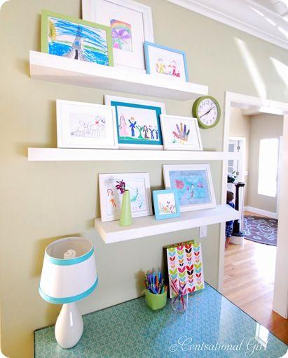 Ideas for Floating Shelves - Floating Shelf Styles