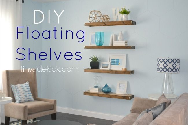 ideas for floating shelves floating shelf styles rh goodhousekeeping com Floating Shelves Ideas what to put on floating shelves in bedroom
