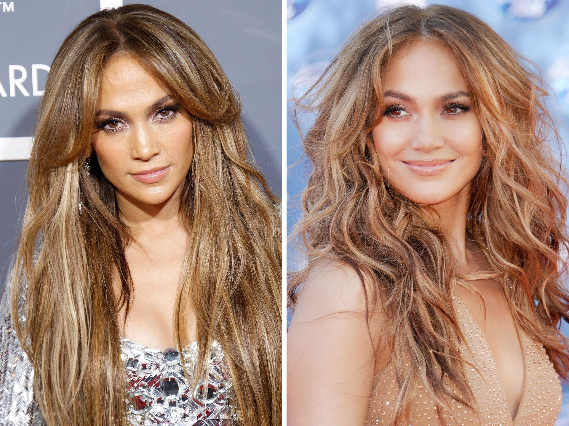 celebrities with straight and wavy hair wavy and straight hair