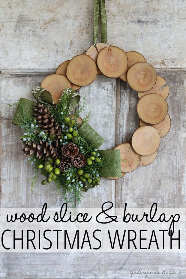 55 diy christmas wreaths how to make a holiday wreath craft - Burlap Christmas Wreath