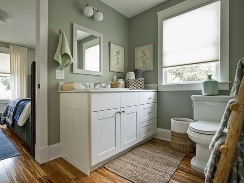 Wood, Floor, Room, Flooring, Interior design, Property, Home, Drawer, Wood flooring, Wall,