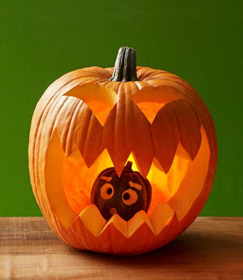 26 Easy Pumpkin Carving Ideas for Halloween 2019 , Cool